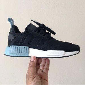 Adidas Shoes Nmd R1 Black Blue White Poshmark